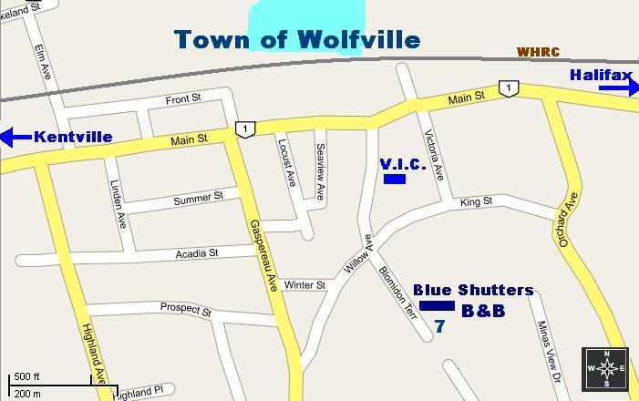 1:500 Scale Map of Wolfville